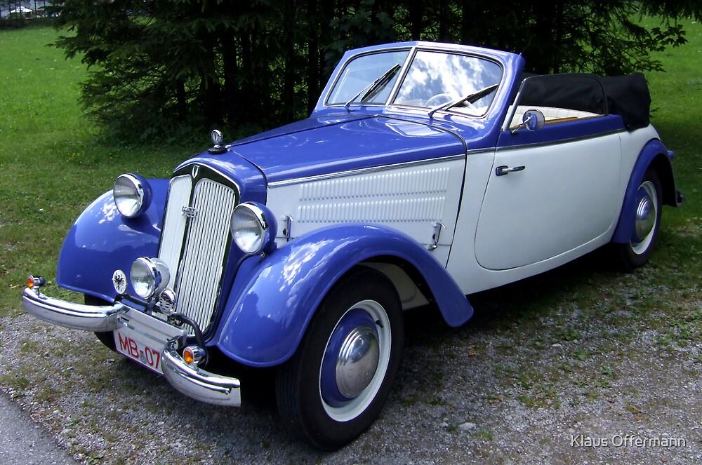 DKW F8 700 Cabriolet by Klaus Offermann