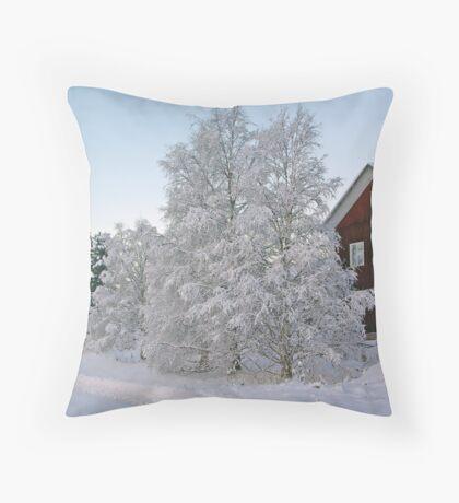 December Morning #3 Throw Pillow