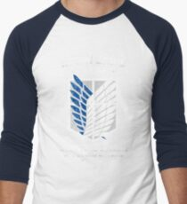 RECON CORPS - MILITARY FORCE Men's Baseball ¾ T-Shirt