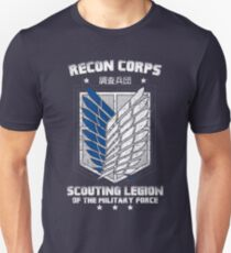 RECON CORPS - MILITARY FORCE Unisex T-Shirt