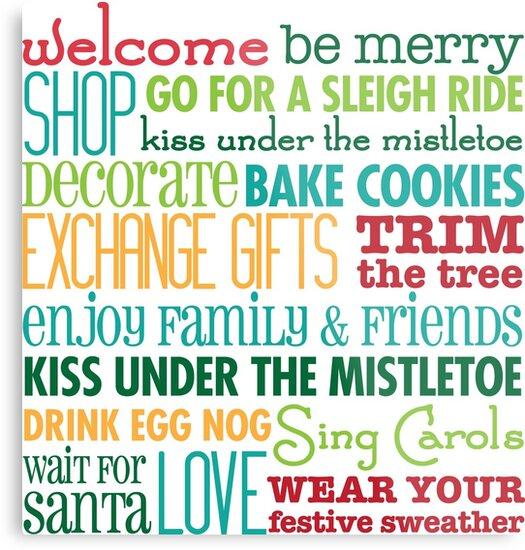 Christmas Rules by starstreamdezin