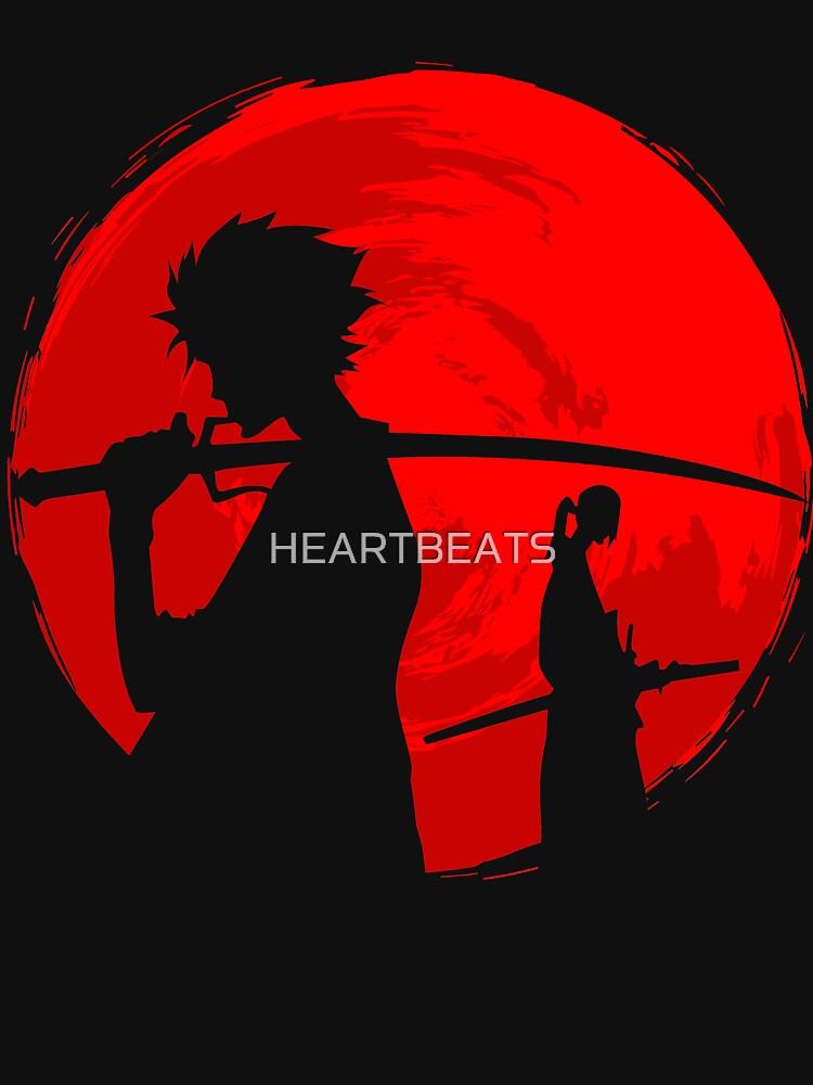 Samurai sunset by HEARTBEATS