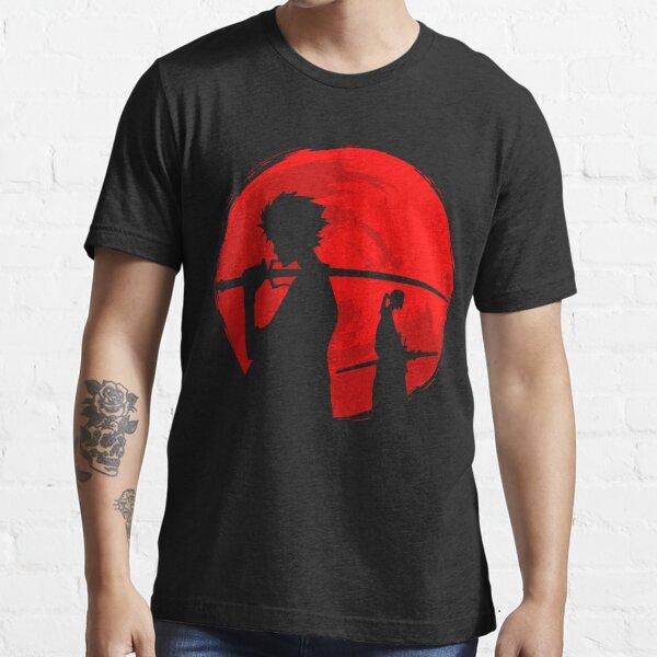 Samouraï coucher de soleil T-shirt essentiel