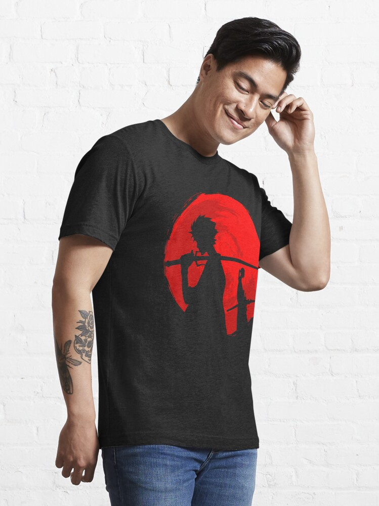 Alternate view of Samurai sunset Essential T-Shirt