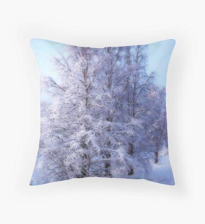 Winter Birch #1 Throw Pillow