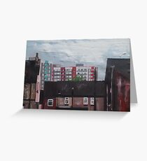 The Skyline of Hull Greeting Card
