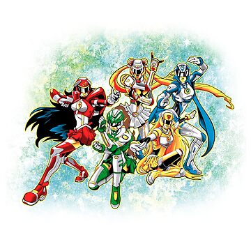 Sailor Rangers Go! by LiquidStryder