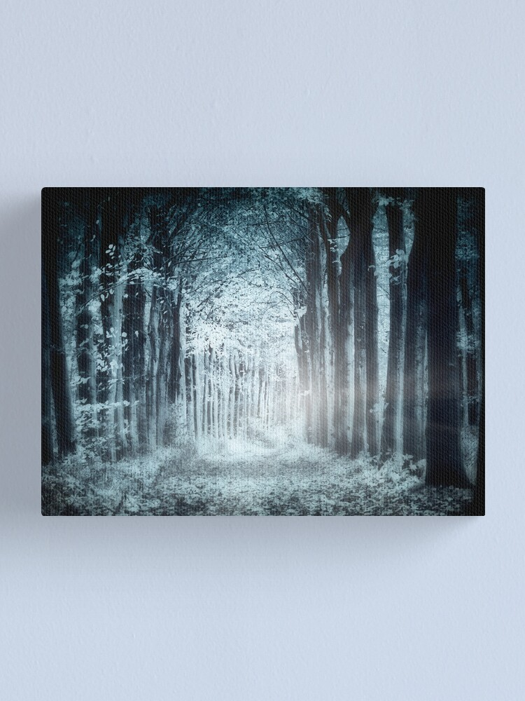 Alternate view of Night, Woods Canvas Print