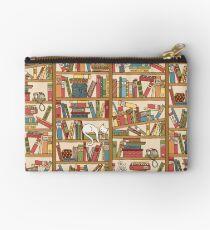 Bookshelf No.1 Zipper Pouch