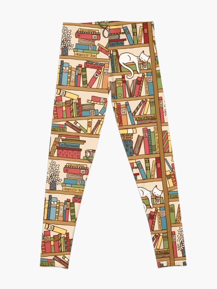 Alternate view of Bookshelf No.1 Leggings