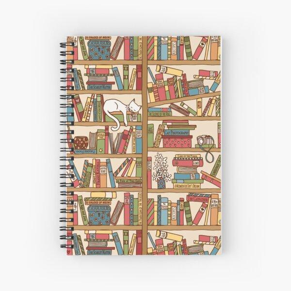 Bookshelf No.1 Spiral Notebook
