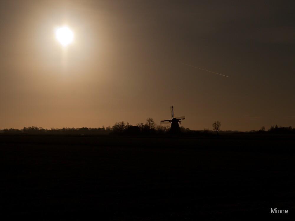 Mill in Sunlight by Minne