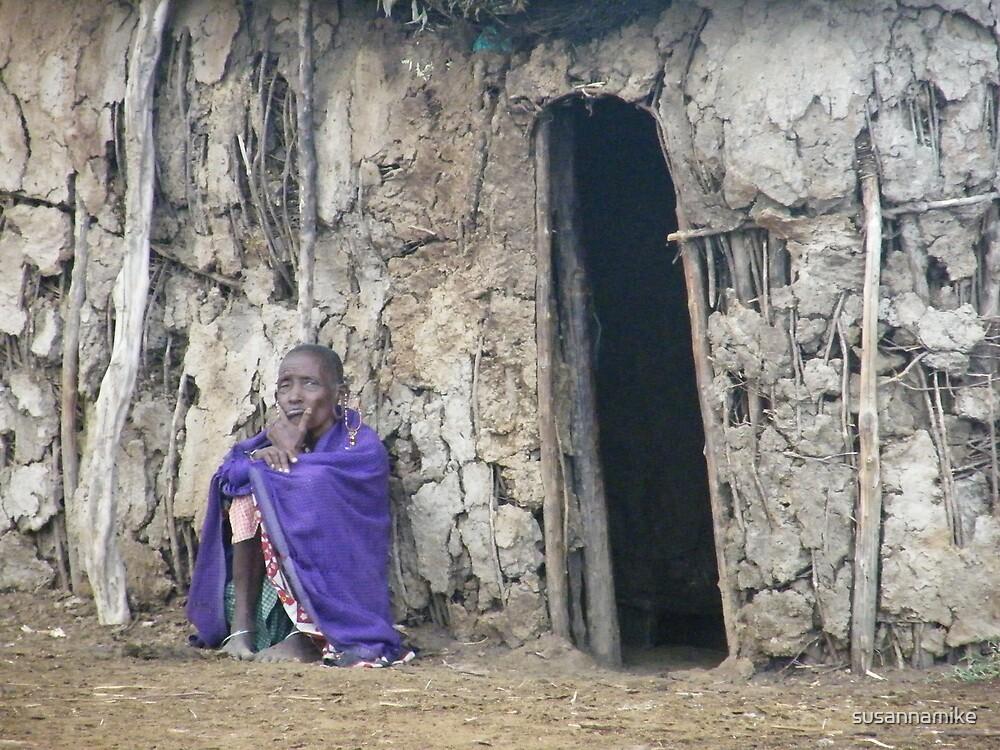 Purple Masai by susannamike