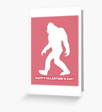Yeti Valentine Greeting Card