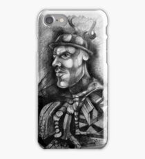 Portrait of a Man with a Big Chin. iPhone Case/Skin