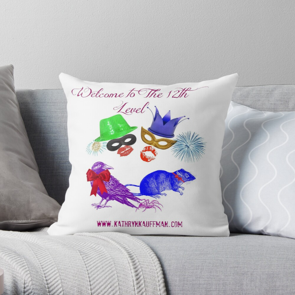 Welcome to the 12th Level Throw Pillow