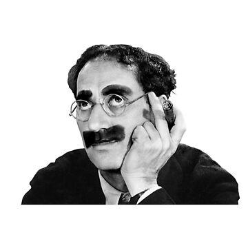 Groucho Marx by Patxirodri