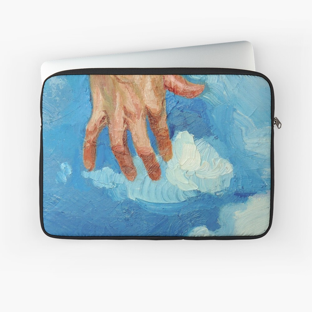 Touching Clouds Laptop Sleeve