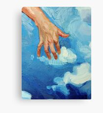 Touching Clouds Canvas Print
