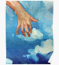 Touching Clouds Poster