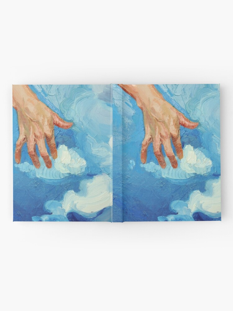 Alternate view of Touching Clouds Hardcover Journal