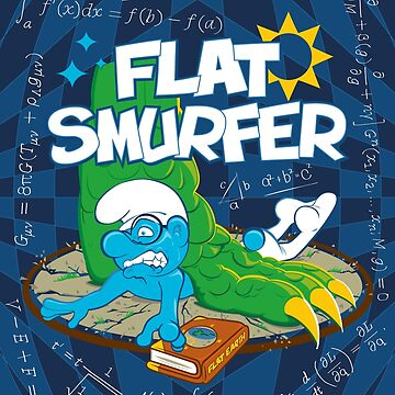 Flat Smurfer by PootanInamo