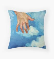 Touching Clouds Throw Pillow