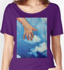 Touching Clouds Women's Relaxed Fit T-Shirt