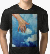 Touching Clouds Tri-blend T-Shirt