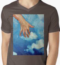 Touching Clouds Men's V-Neck T-Shirt