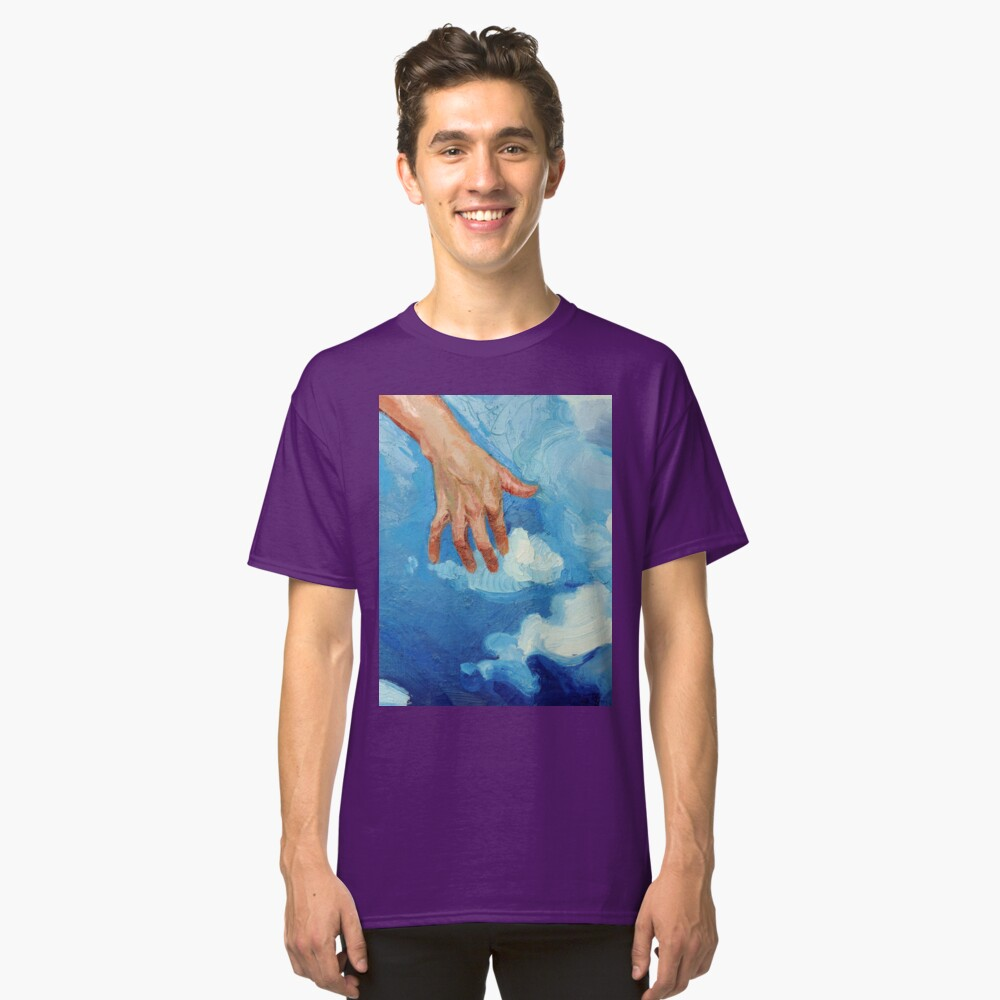 Touching Clouds Classic T-Shirt