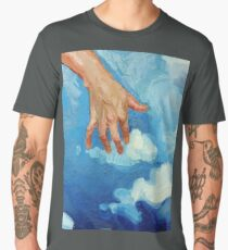 Touching Clouds Men's Premium T-Shirt