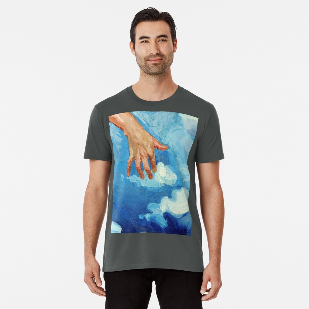 Touching Clouds Premium T-Shirt