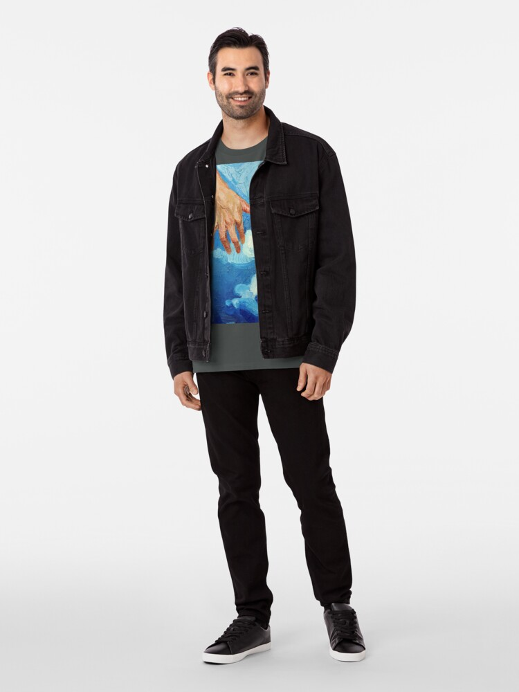 Alternate view of Touching Clouds Premium T-Shirt