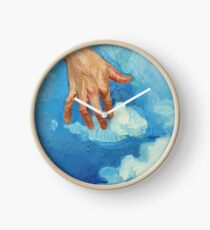 Touching Clouds Clock