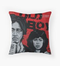 Old Boy - a film by Park Chan-Wook Throw Pillow