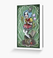Jacklyn Carnival of Mayhem  Greeting Card