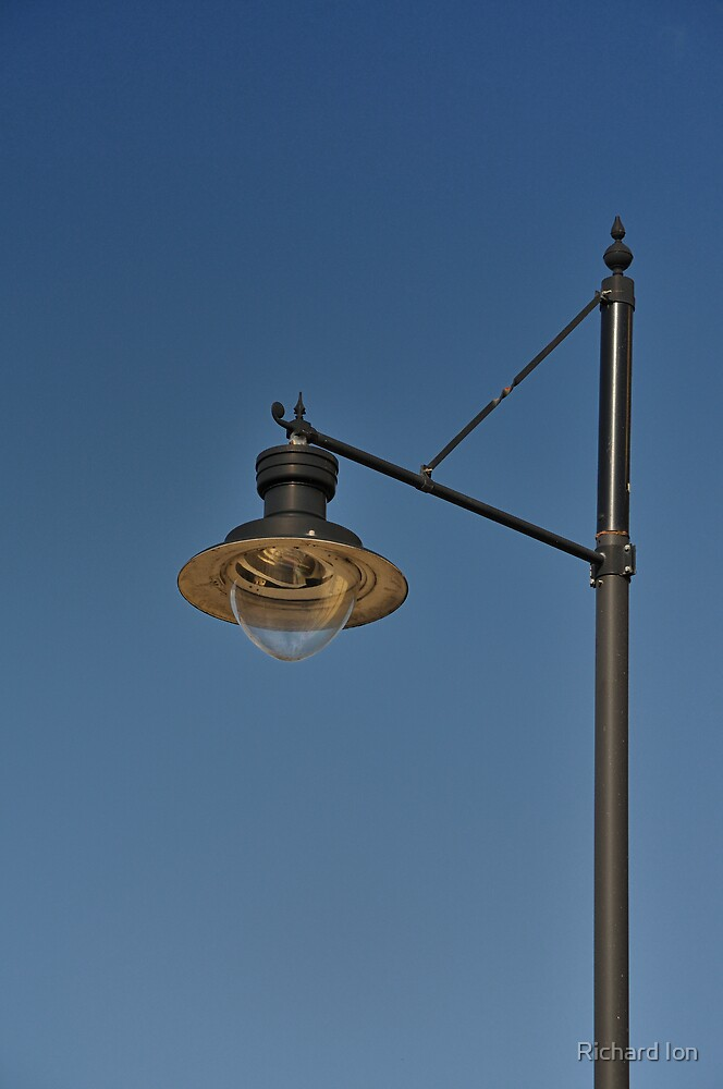 Lamp at Lancaster Market by Richard Ion