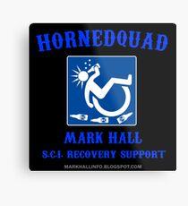HORNEDQUAD 1 (Beer) Metal Print