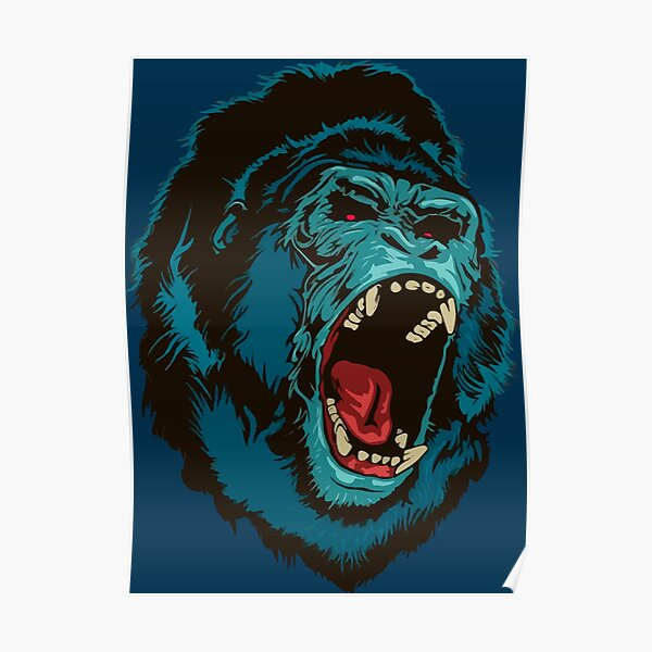 Gorilla Kong Poster