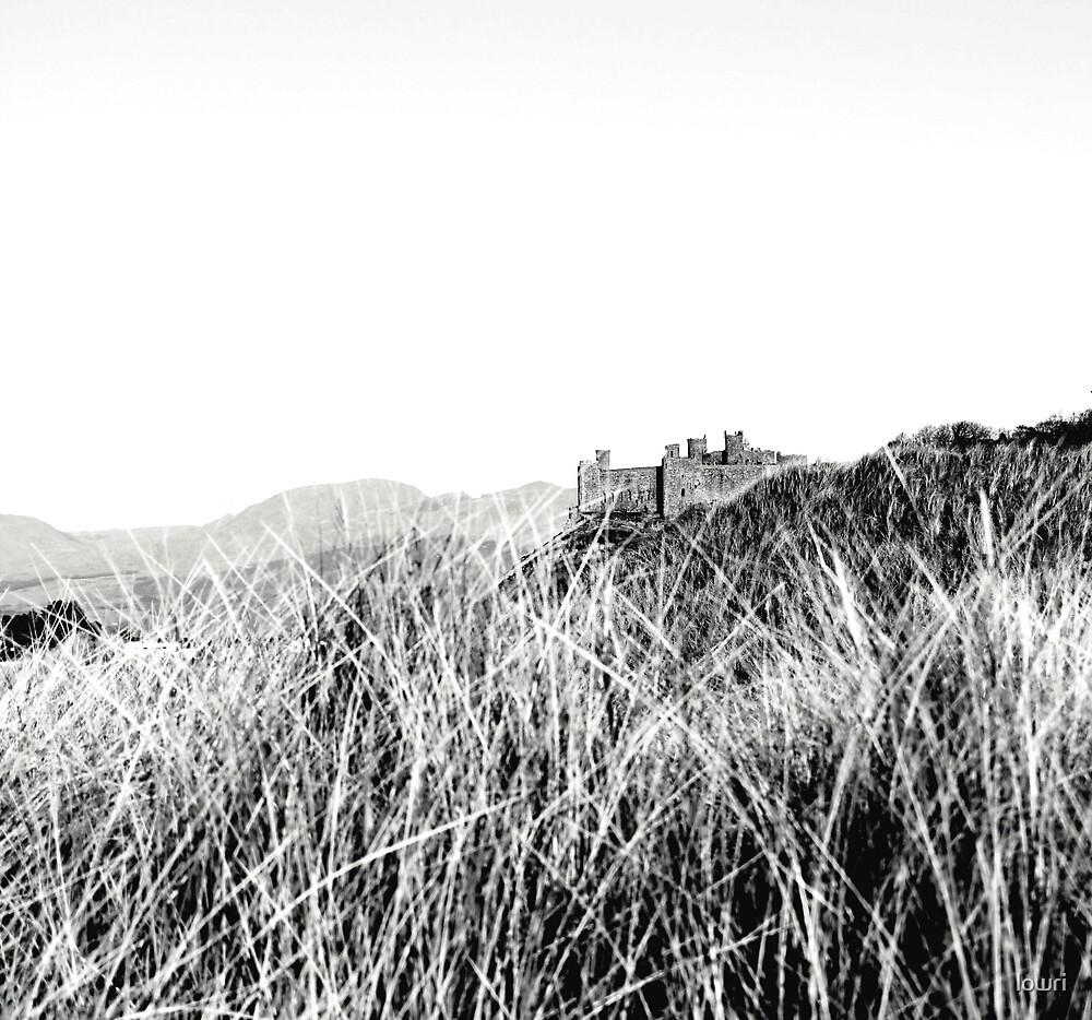 Hiding Harlech Castle by lowri