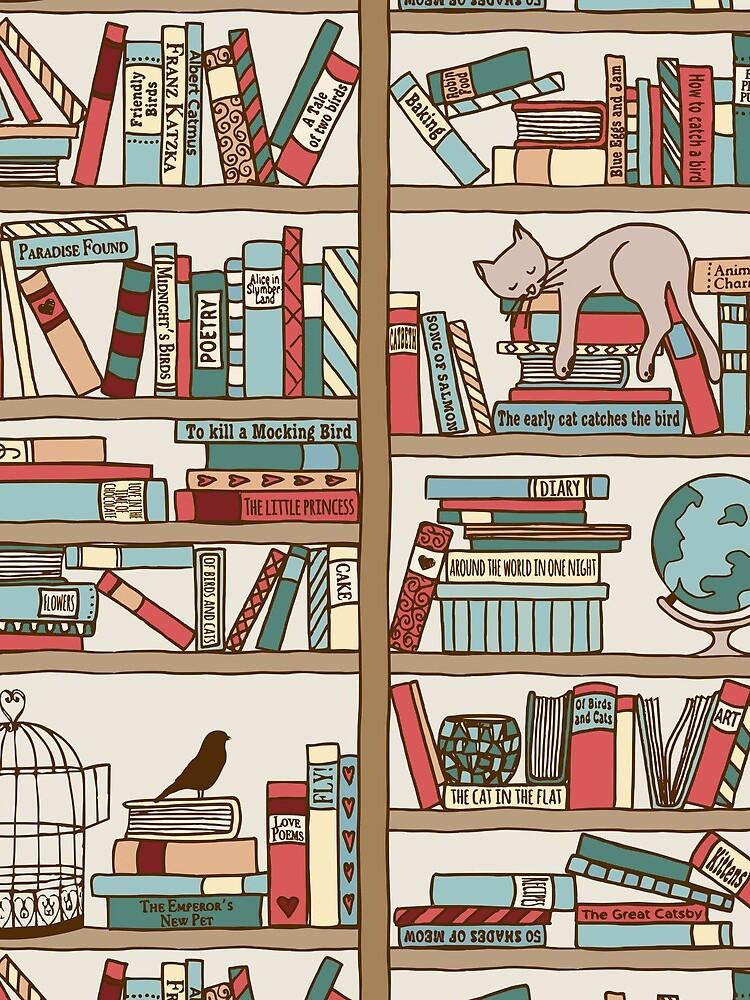 Bookshelf No.2 by franzi