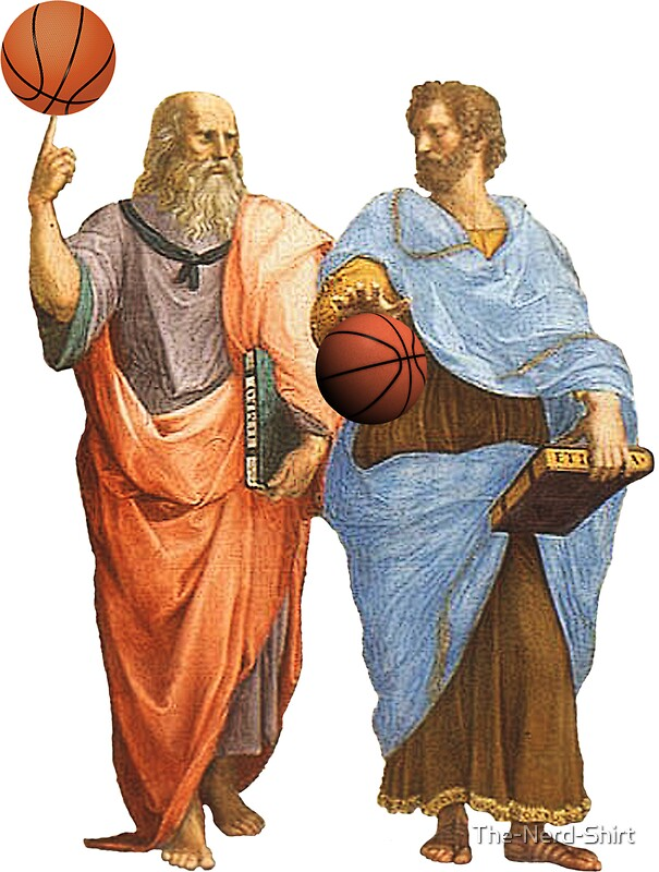 Image result for Plato with basketball