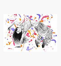 Breakdancer Photographic Print