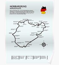 Der Nürburgring - Nordschleife Poster