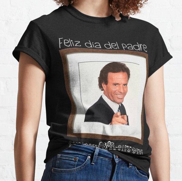 Feliz día del padre (para fondos oscuros) Camiseta clásica