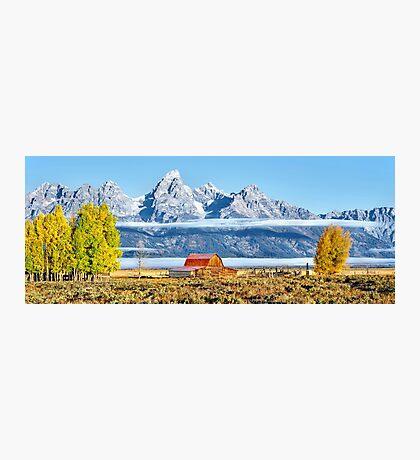 Grand Teton Barn Photographic Print