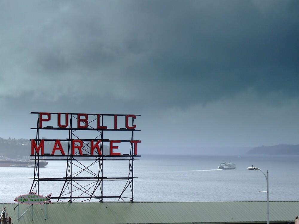 Pike Place by ChrisRadek