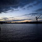 Late evening waterfront shot, Gothenburg by 71featherst