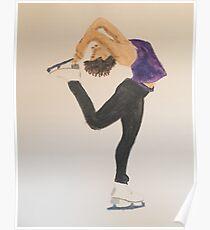 Figure Skater Poster
